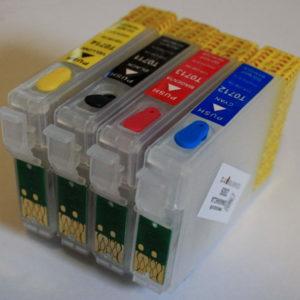 obnoviteľné atramentové kazety