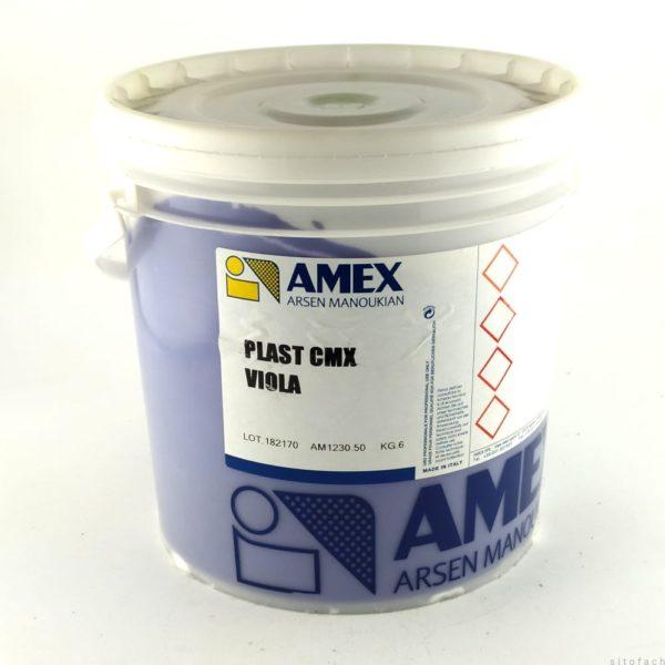 plastizolová farba na sieťotlač - fialová